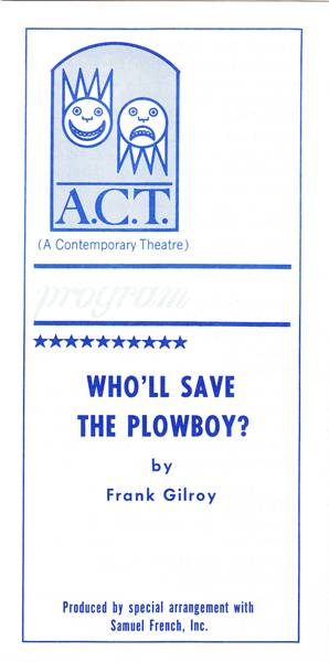 Who'll Save the Plowboy?